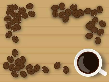 Coffee bean frame 2