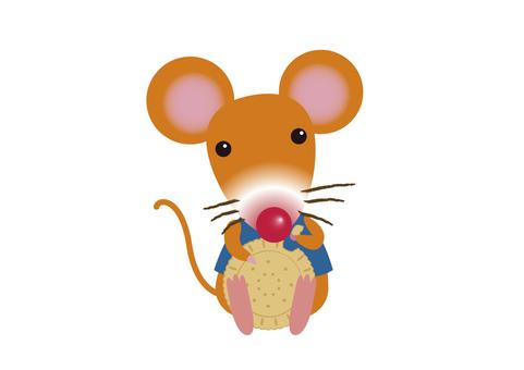 mouse_ 쥐 7_ 비스킷