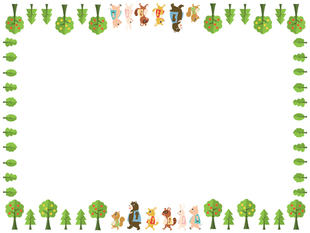 Forest Animal Frame