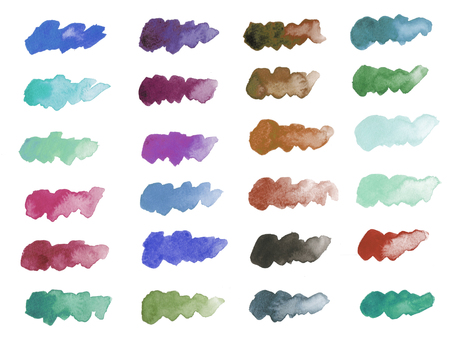 Watercolor stroke-3