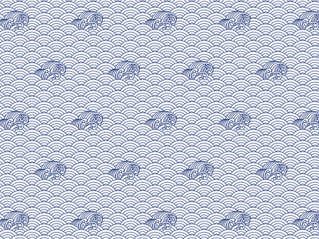 7 with ai wave pattern swatch