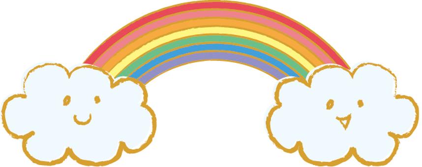 Fluffy Rainbow