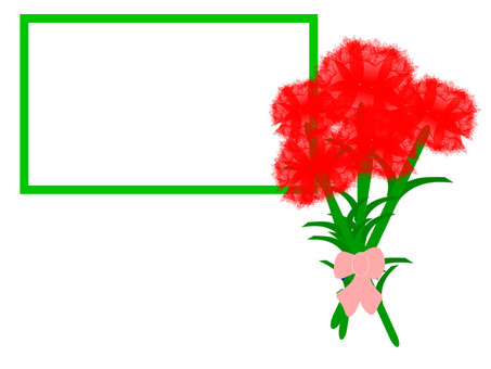 Message of appreciation for Mother's Day and Carnation