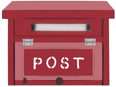 포스트 (빨강)