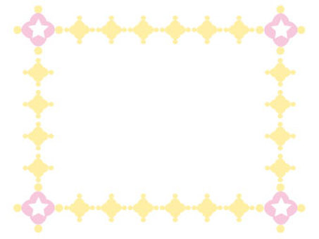Floral and decorative frame 2-5