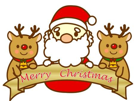 Santa Claus & Reindeer 1