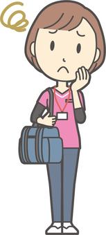 Visiting nurse-214-whole body
