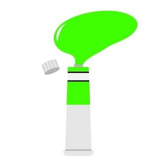 녹색 물감
