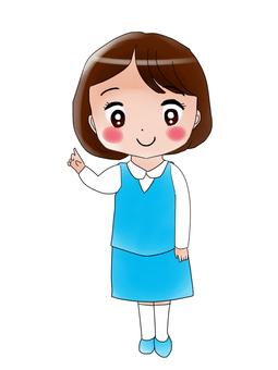 직장인 여성 5