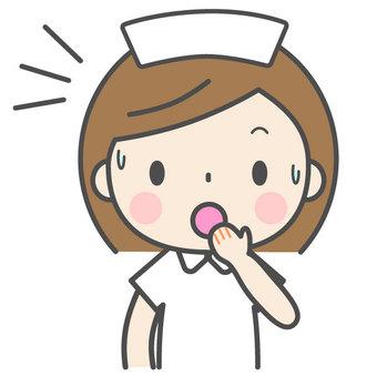 愉快的護士