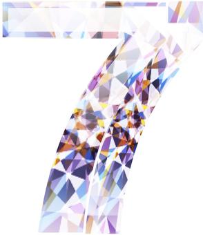 ai 다이아몬드의 숫자 7