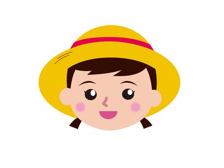 Girl 1 hat