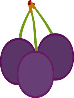 Food series fruit prune