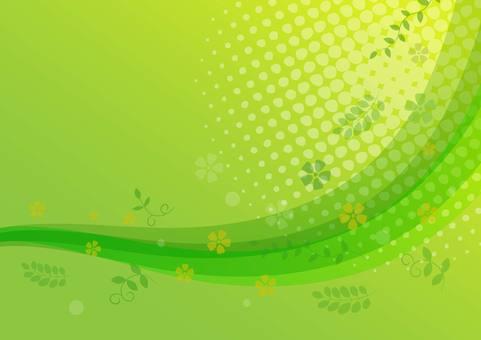 Fresh green wallpaper
