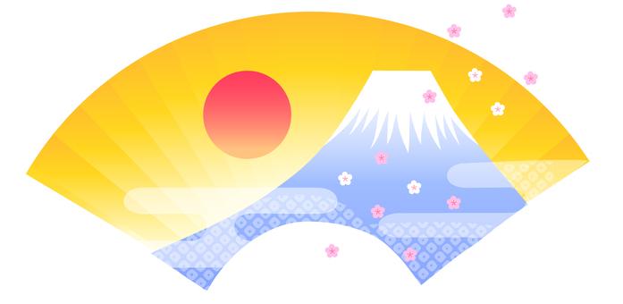 Fan illustration of Mt. Fuji