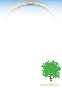 나무와 무지개