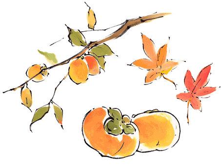 """Autumn set """"handwritten material"""""""