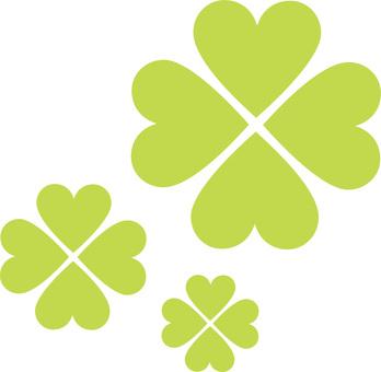 Clover mark four leaf clover