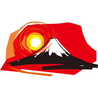 Fuji Illustration