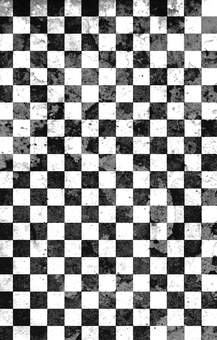 Monochrome check pattern