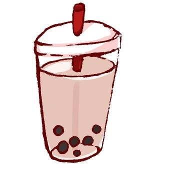 Tapioca milk tea