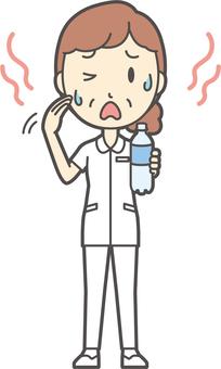 中年女護士白大衣-257-全身
