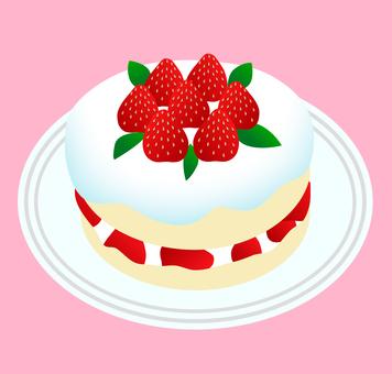 蛋糕的插圖