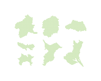 Dot Map Kanto 3