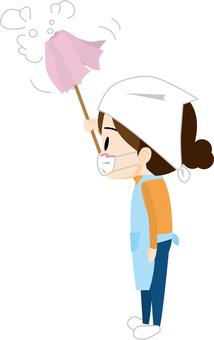 Hataki cleaning (housewife)