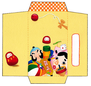 Otomage bag (cut out, please fold and paste)