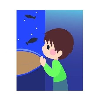 Aquarium and children 2
