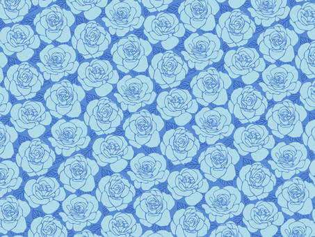 Background with roses-05 (blue)