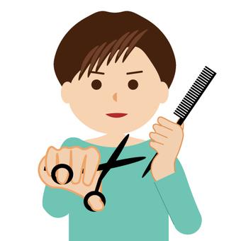 Various professional series (hairdresser)