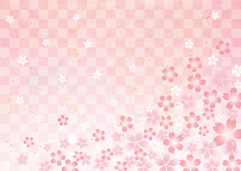 Sakura _ lattice_ Japanese paper _ background