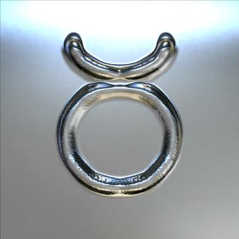 Metal plate - mark of Taurus