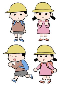 Elementary school student 1