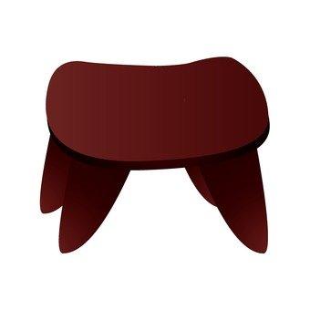 African furniture stool 1