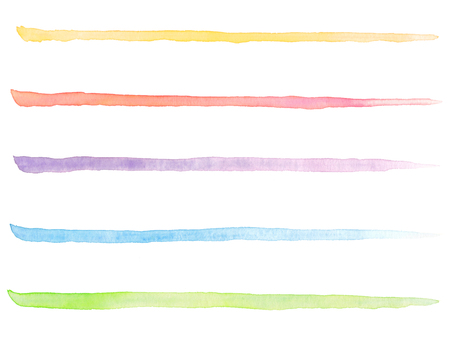 Watercolor line 5