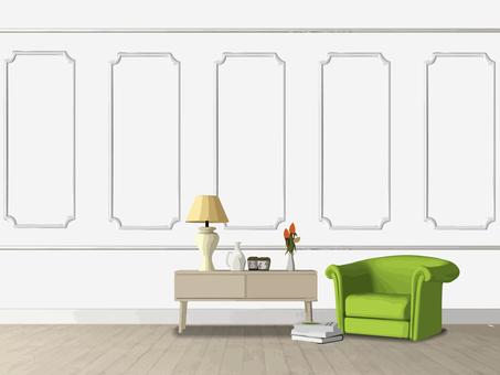 Interior (Wall 1)