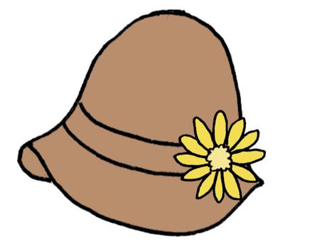 튤립 모자