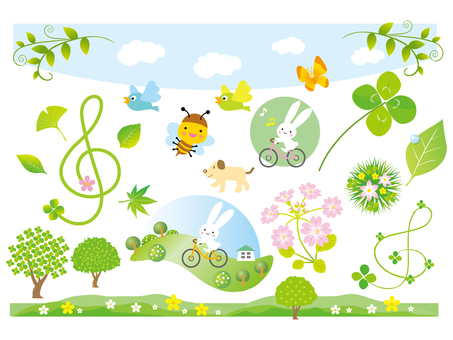 Spring illustration part 2