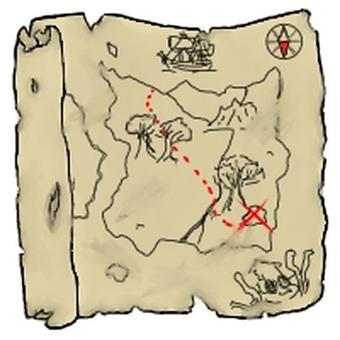Map of old treasure old treasure