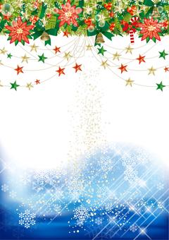 Christmas wreath & snow 37