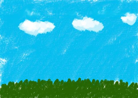 푸른 하늘 땅
