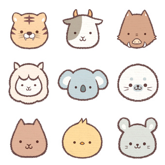 Icon animal collection 3