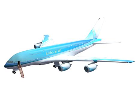 Jumbo jet machine