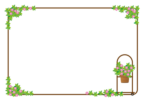 Flower wagon frame