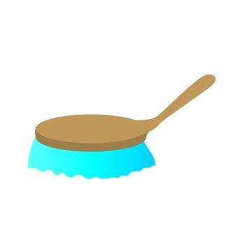 Brush, Blue
