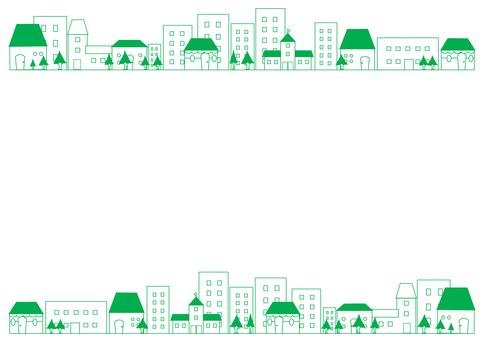 Street frame (green)