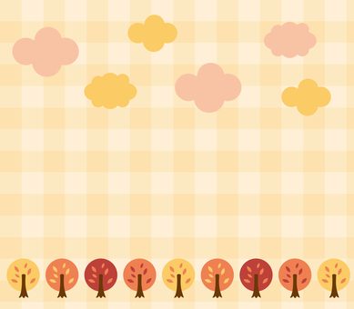 Autumn tree background 3